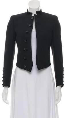 Saint Laurent Wool Asymmetrical Blazer