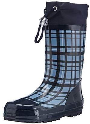 Playshoes Wellies Square, Girls' Wellington Boots,(28/29 EU)