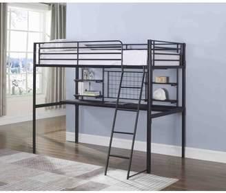 LOFT Coaster Company Boltzero Bunk Bed in Black