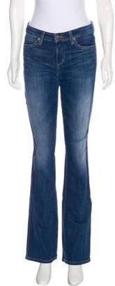 Joe's Jeans Mid-Rise Wide-Leg Jeans