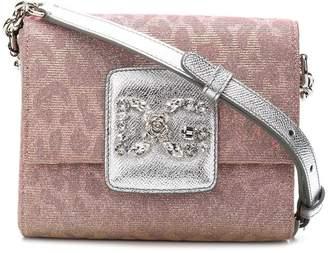 Dolce & Gabbana Millennials leopard crossbody bag