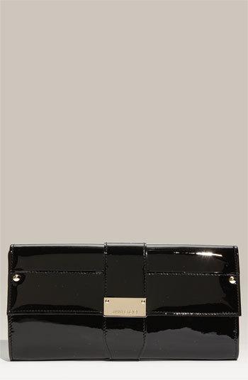 Jimmy Choo 'Ubai' Patent Leather Clutch