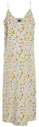 Topshop MATERNITY Printed Slip Dress