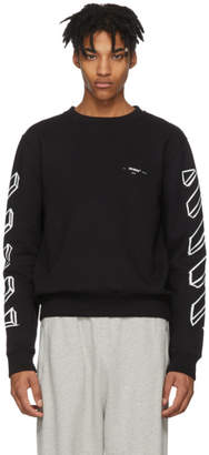 Off-White Off White Black Diagonal Marker Arrows Sweatshirt