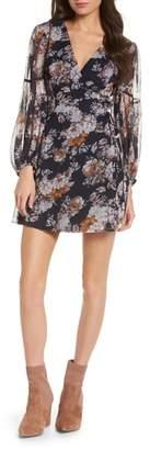 Ali & Jay Fairy Queen Floral Wrap Minidress