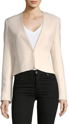 Lanvin Women's Long-Sleeve Cropped Blazer