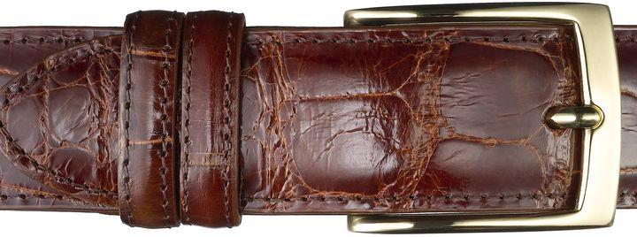 Jos. A. Bank Signature Gold Genuine Alligator Belt