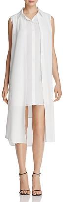 Calvin Klein Double Layer Dress $89.50 thestylecure.com