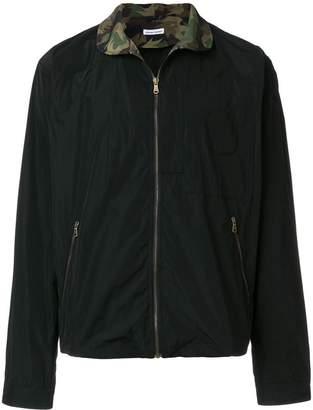 Tomas Maier cropped lightweight jacket
