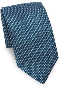 Saks Fifth Avenue Dash Neat Silk Tie