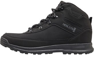 Henleys Mens Travis Boots Black