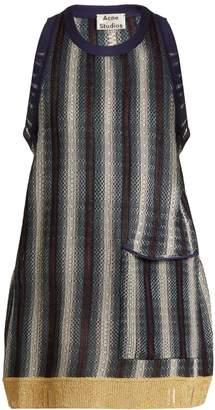 Acne Studios Bibi striped fine-knit top