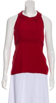 Marni Sleeveless Silk Top