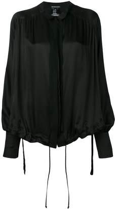 Ann Demeulemeester drawstring blouse
