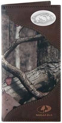Zep-Pro Arkansas Razorbacks Concho Mossy Oak Secretary Wallet