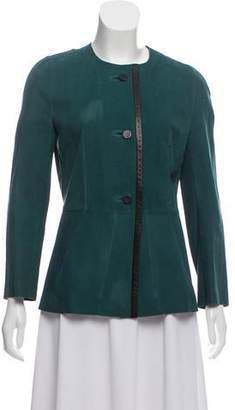 Marni Suede Evening Jacket