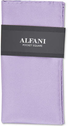 Alfani Men Solid Twill Silk Pocket Square