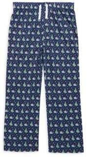 Toddler's, Little Boy's & Boy's Santa Whale Pajama Pants