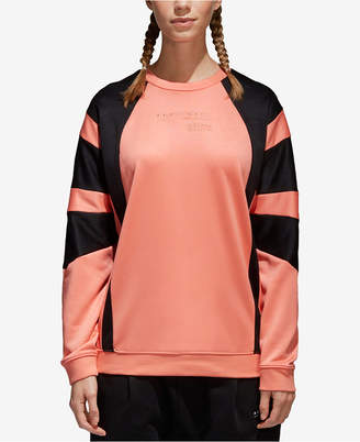 adidas Equipment Colorblocked French Terry Sweatshirt