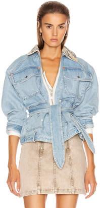 Marissa Webb Coleman Field Jacket in My Dad's Indigo | FWRD