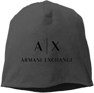 Armani Exchange F-Mnnu A|X Men's And Women's Unisex Warm Winter Woolen Beanie Hat
