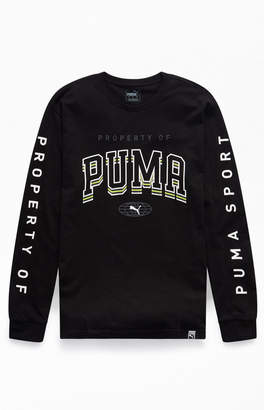 Puma Retro Property Of Long Sleeve T-Shirt