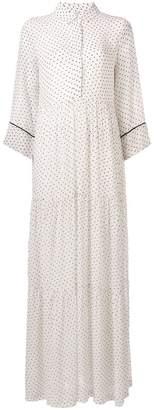 Ganni Rometty Georgette long dress