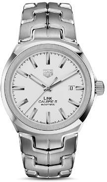 Tag Heuer Link Calibre 5 Watch, 41mm