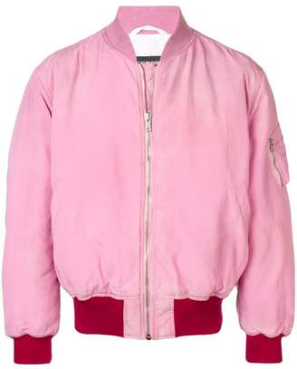 Calvin Klein back logo bomber jacket