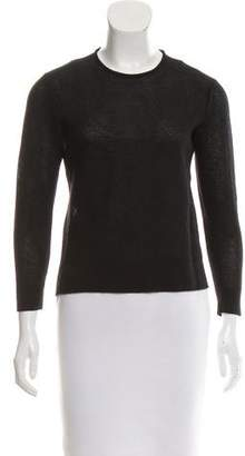 Tim Coppens Open Knit Crew Neck Sweater