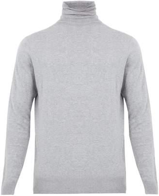 Raey Roll-neck cotton-knit sweater