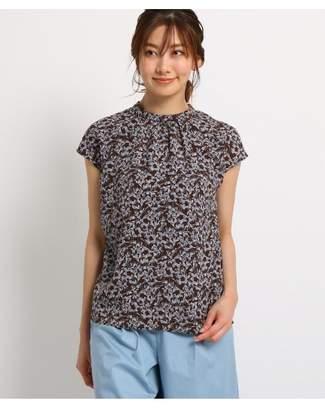 Dessin (デッサン) - Ladies [洗える]線画フラワープリントシャツ