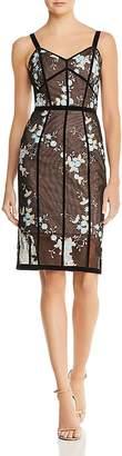 Bronx AND BANCO Marietta Floral Illusion Dress