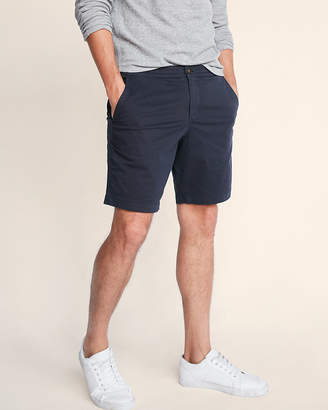 Express Classic Fit 10 Inch Drawstring Stretch Shorts
