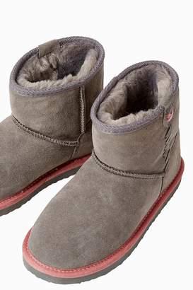 Next Girls FatFace Grey Amber Boot