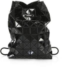 ... Bao Bao Issey Miyake Women s Geometric Wring Backpack - Black 47688403b9496