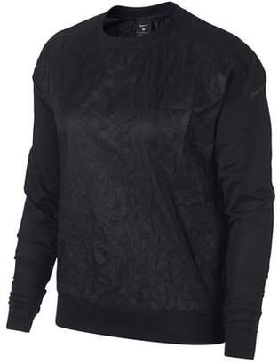 Nike Seasonal Water Repellent Women's Pullover Running Jacket