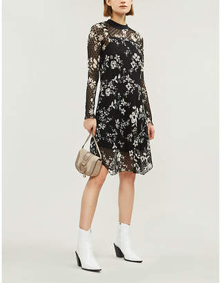 See by Chloe Floral-print lace dress