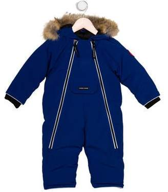 Canada Goose Boys' Fur-Trimmed Snowsuit