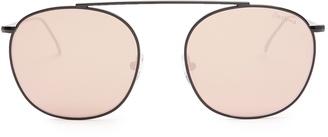 ILLESTEVA Mykonos II metal sunglasses $145 thestylecure.com