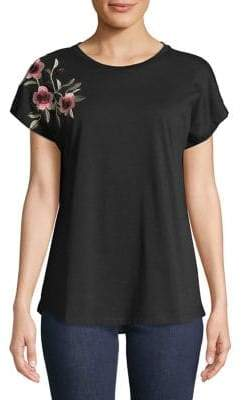 Context Embroidered Short-Sleeve Tee