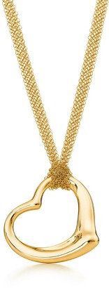 Tiffany & Co. Elsa Peretti Open Heart pendant in 18k gold