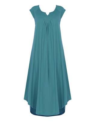 at Amazon Canada · Ultrasoft Ekouaer Nightgown Women s Sleepwear Sleeveless  Nightshirt V-Neck Ultra-Soft Long Sleep Dress 580340f65
