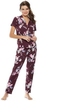 Flora Nikrooz Flora By Women's Flora by Floral Shirt & Pants Pajama Set