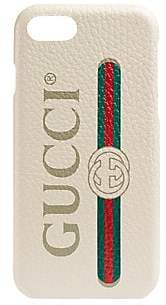 Gucci Men's Print iPhone 8 Case - White