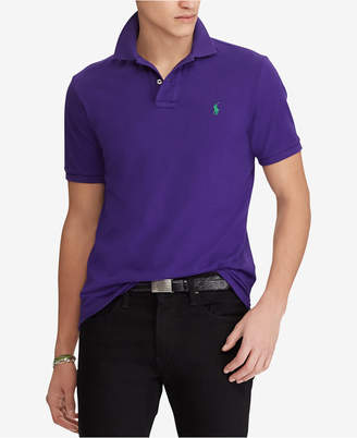 Polo Ralph Lauren Men Custom Slim Fit Mesh Polo