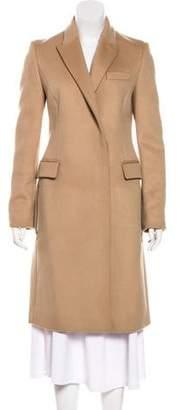 Stella McCartney Wool Peak-Lapel Coat