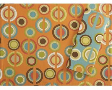 Retro Circles Reversible Placemat/Napkin