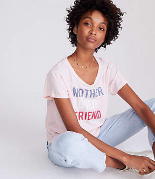 Lou & Grey Sundry Mother Lover Friend Tee