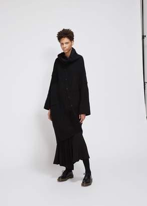 Yohji Yamamoto Cowl Neck Ghost Coat